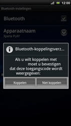 Sony Ericsson R800 Xperia Play - Bluetooth - headset, carkit verbinding - Stap 8