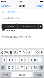 Apple iPhone 5s iOS 8 - E-mail - Bericht met attachment versturen - Stap 9