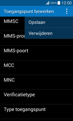 Samsung G355 Galaxy Core 2 - MMS - handmatig instellen - Stap 16