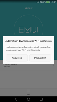 Huawei Mate S - Netwerk - Software updates installeren - Stap 5