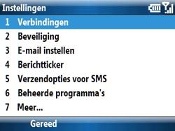 Samsung C6620 - Internet - handmatig instellen - Stap 6