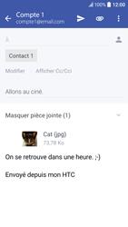 HTC 10 - E-mail - envoyer un e-mail - Étape 15