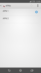 Sony Xperia T3 - Mms - Manual configuration - Step 16