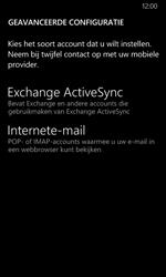 Nokia Lumia 635 - E-mail - Handmatig instellen - Stap 11