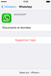 Apple iPhone 4S - Applications - Supprimer une application - Étape 6