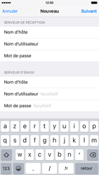 Apple iPhone 6 iOS 9 - E-mail - Configuration manuelle - Étape 14