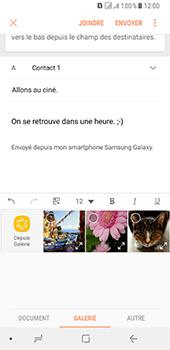 Samsung Galaxy A8 (2018) - E-mail - envoyer un e-mail - Étape 12