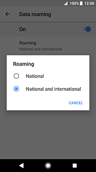 Sony Xperia XA2 Ultra - Internet - Disable data roaming - Step 8