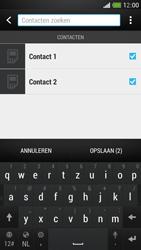 HTC One Mini - Contacten en data - Contacten kopiëren van SIM naar toestel - Stap 10
