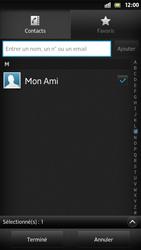Sony Xpéria S - Contact, Appels, SMS/MMS - Envoyer un SMS - Étape 8