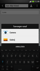 HTC One Mini - MMS - hoe te versturen - Stap 12