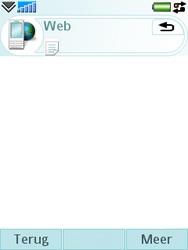 Sony Ericsson M600i - Internet - Hoe te internetten - Stap 14