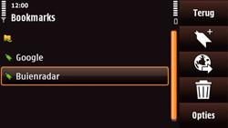 Nokia N97 Mini - Internet - Hoe te internetten - Stap 10