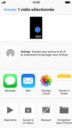 Apple iPhone SE - iOS 11 - Photos, vidéos, musique - Créer une vidéo - Étape 12