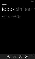 Nokia Lumia 520 - E-mail - Escribir y enviar un correo electrónico - Paso 4
