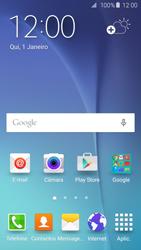 Samsung Galaxy S6 - Email - Adicionar conta de email -  1