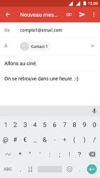 Nokia 3 - E-mail - Envoi d