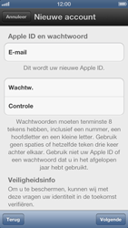 Apple iPhone 5 - Applicaties - Account aanmaken - Stap 8