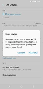 Samsung Galaxy S8 Plus - Internet - Activar o desactivar la conexión de datos - Paso 7
