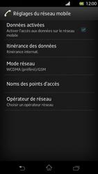 Sony LT30p Xperia T - Internet - activer ou désactiver - Étape 6
