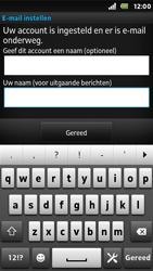 Sony ST25i Xperia U - E-mail - Handmatig instellen - Stap 17