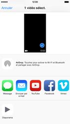 Apple iPhone 6 iOS 8 - Photos, vidéos, musique - Créer une vidéo - Étape 9