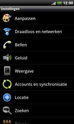 HTC S510e Desire S - Internet - aan- of uitzetten - Stap 4