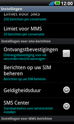 LG P990 Optimus 2X Speed - SMS - handmatig instellen - Stap 4