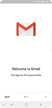 Samsung Galaxy S9 - E-mail - Manual configuration (gmail) - Step 5