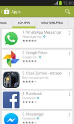 Samsung I8190 Galaxy S III Mini - Aplicativos - Como baixar aplicativos - Etapa 8