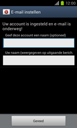 Samsung I9100 Galaxy S II - OS 4 ICS - E-mail - handmatig instellen - Stap 19
