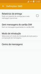 Samsung Galaxy S4 LTE - SMS - Como configurar o centro de mensagens -  9