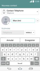 LG D855 G3 - Contact, Appels, SMS/MMS - Ajouter un contact - Étape 6