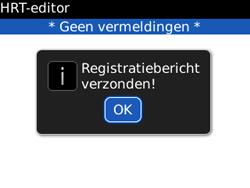 BlackBerry 8520 Curve - Instellingen - configuratiebericht ontvangen - Stap 7