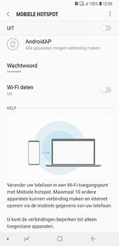 Samsung galaxy-a6-plus-sm-a605fn-ds - WiFi - Mobiele hotspot instellen - Stap 7