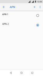 Nokia 1 - Internet - configuration manuelle - Étape 20