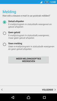 Sony E6853 Xperia Z5 Premium - E-mail - handmatig instellen (outlook) - Stap 11