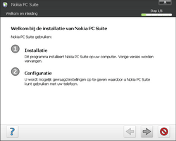 Nokia E70 - Software - PC-software installeren - Stap 6