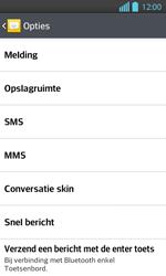 LG P710 Optimus L7 II - SMS - handmatig instellen - Stap 6