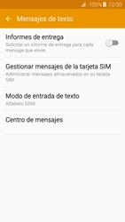 Samsung Galaxy S6 - Mensajería - Configurar el equipo para mensajes de texto - Paso 10