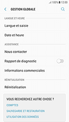 Samsung Galaxy J3 (2017) - Aller plus loin - Restaurer les paramètres d'usines - Étape 5