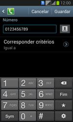 Samsung Galaxy Fresh Duos - Chamadas - Como bloquear chamadas de um número -  14