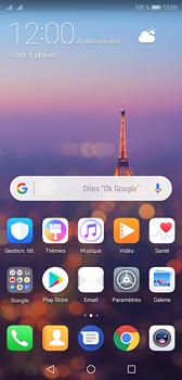 Huawei P20 - E-mail - Configuration manuelle (gmail) - Étape 2