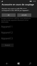 Microsoft Lumia 550 - Bluetooth - Jumeler avec un appareil - Étape 8