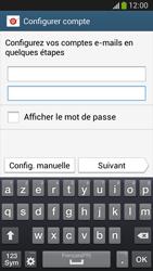 Samsung C105 Galaxy S IV Zoom LTE - E-mail - Configuration manuelle - Étape 6