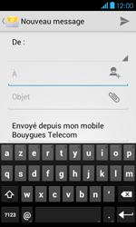 Bouygues Telecom Bs 401 - E-mails - Envoyer un e-mail - Étape 5