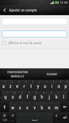HTC Desire 601 - E-mail - Configuration manuelle - Étape 7