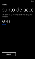 Nokia Lumia 520 - Mensajería - Configurar el equipo para mensajes multimedia - Paso 7
