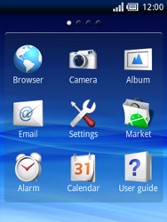 Sony Ericsson Xperia X10 Mini - Internet - Internet browsing - Step 2