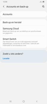 Samsung Galaxy A70 - Beveiliging en privacy - maak een backup met je account - Stap 5